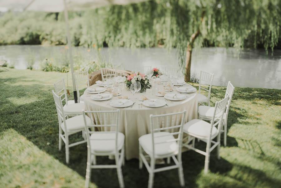 tavoli rotondi al matrimonio