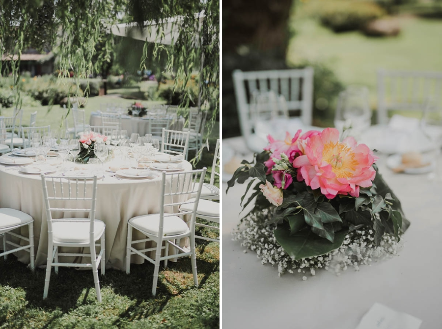 fiori di matrimonio centro tavola