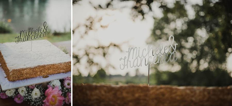 i nomi sulla torta di matrimonio