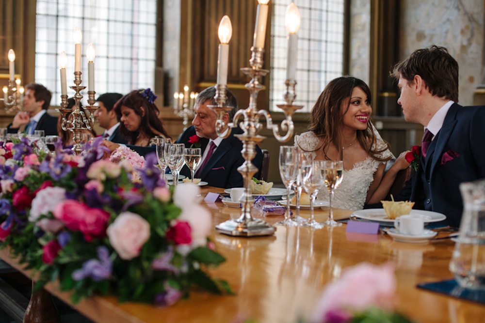 Nadia Tavares Wedding - Painted Hall, Old Royal Naval College, Greenwich
