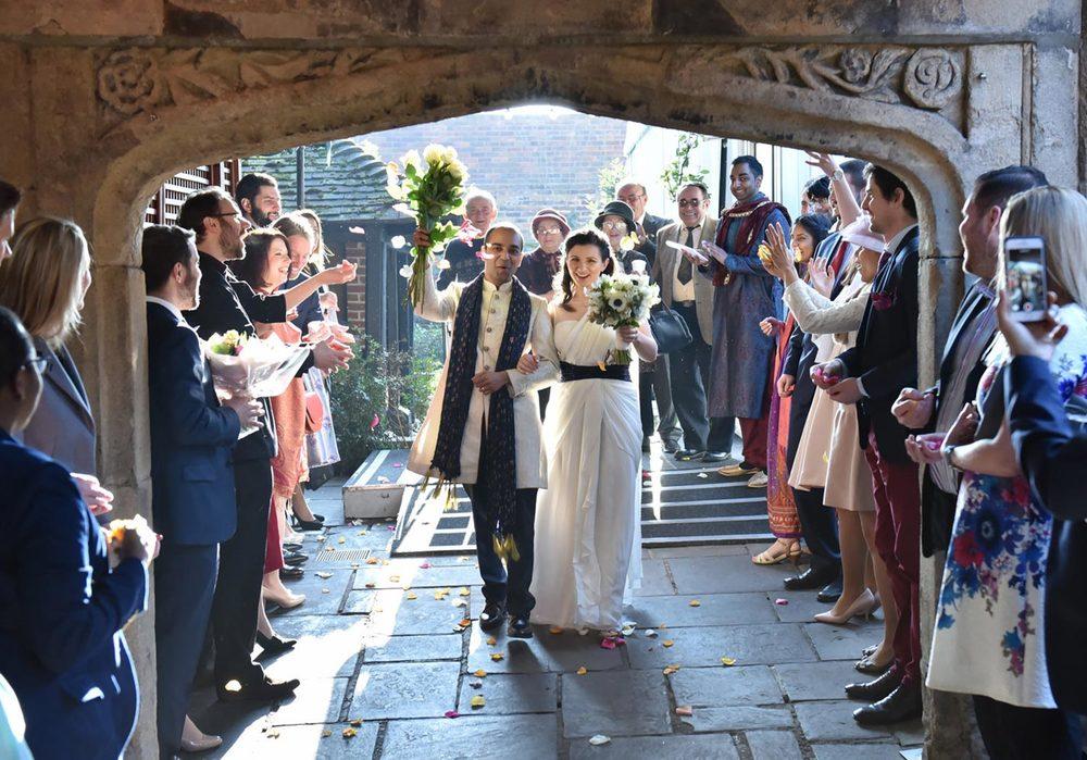Oana Borcan Wedding - Kensington Roof Gardens, London