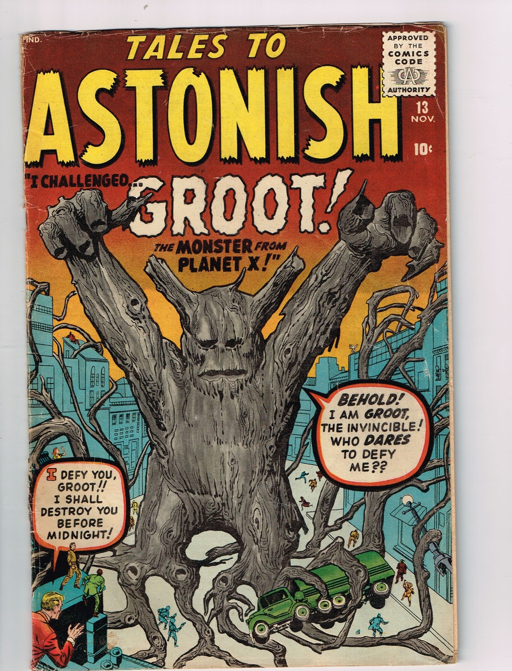 Tales To Astonish # 13