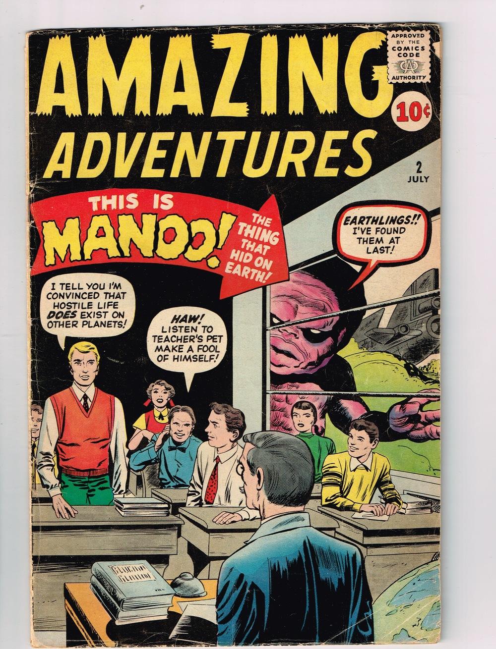 Amazing Adventures # 2