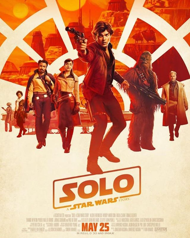 How about that new trailer for #Solo? #starwars