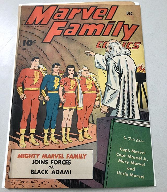 New pickup yesterday! 1st Black Adam. #shazam #captainMarvel #goldenage #comics #comicbooks #blackadam