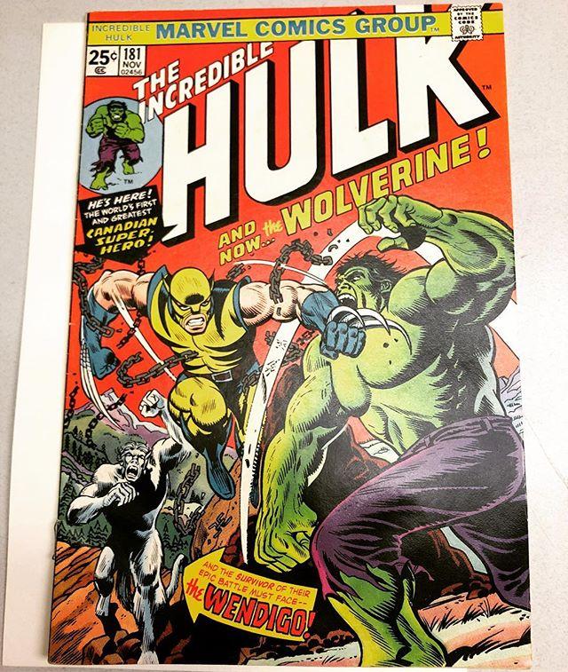 Heading off to CGC! #hulk 181 #marvel #avengers #comics #marvelcomics #comicbooks #comicbook