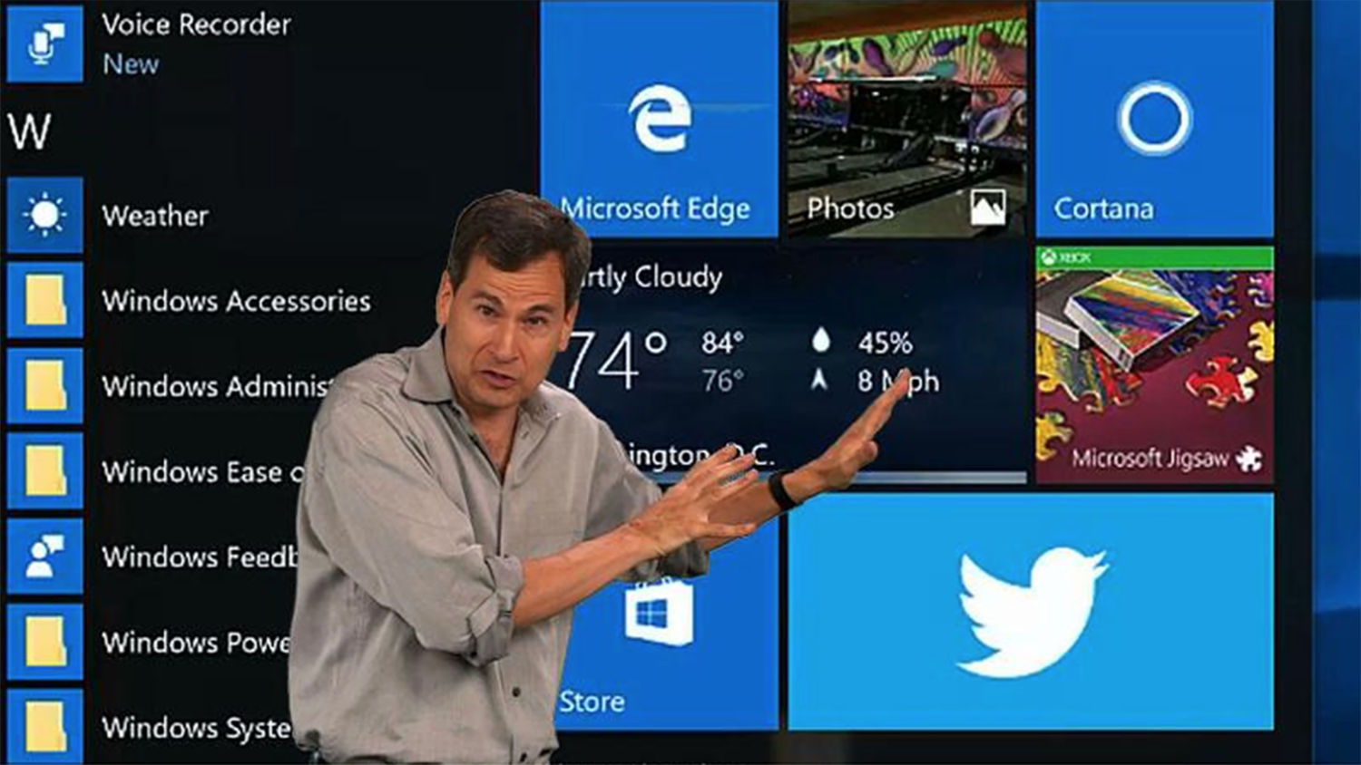 coder foundry david pogue s microsoft windows 10 review
