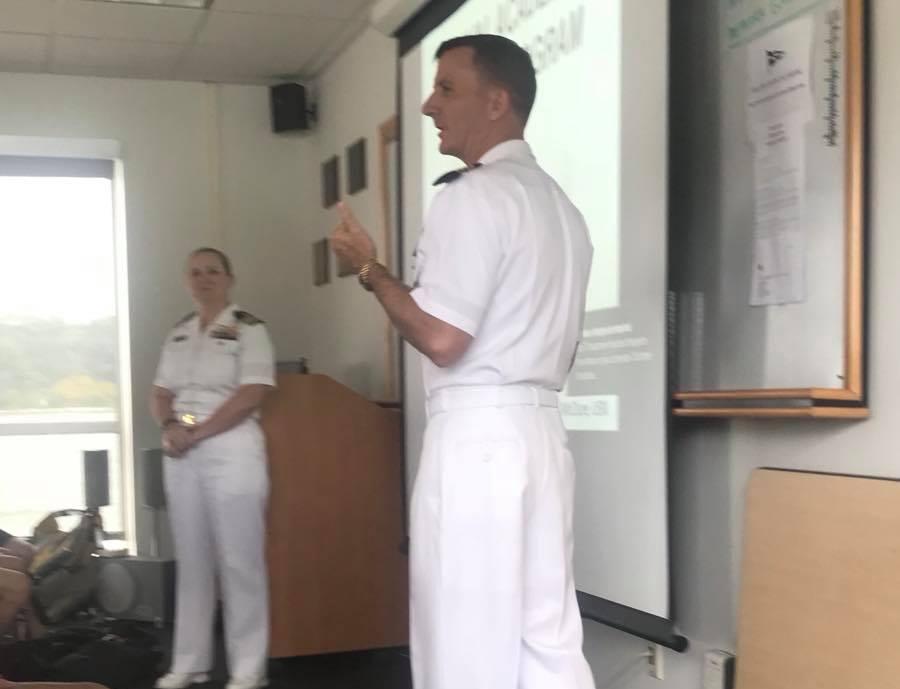 Commandant, Capt Rob Chadwick