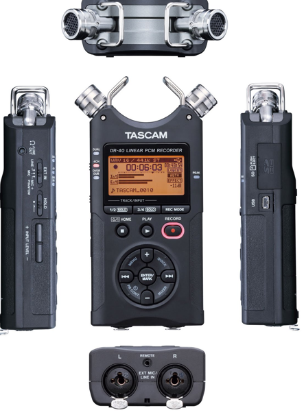 Tascam Linear Recorder - диктофон