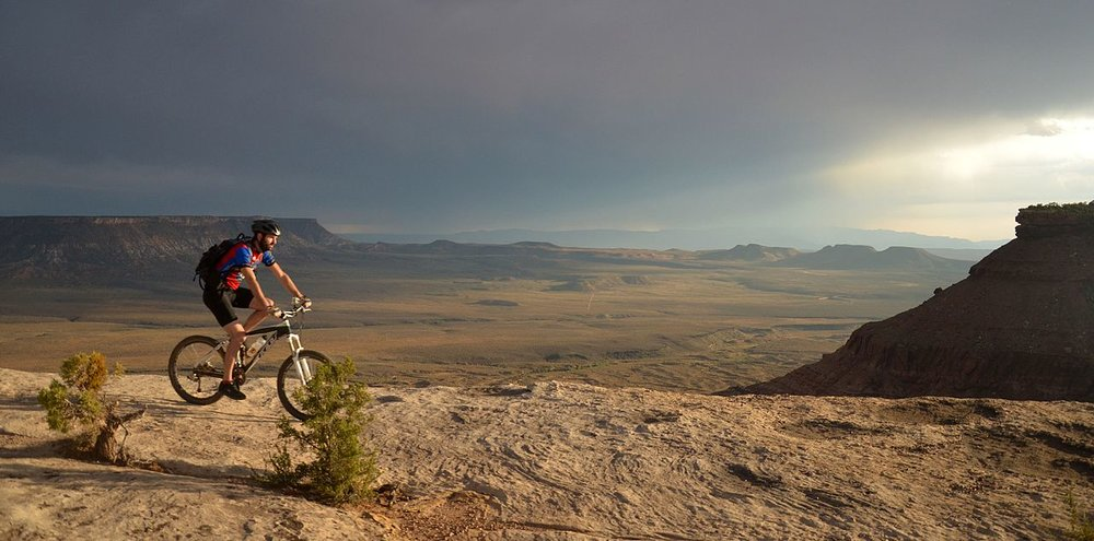 BLM_Winter_Bucket_List_-19-_Gooseberry_Mesa_National_Recreation_Trail,_Utah,_for_Challenging_Biking_Terrain_and_Spectacular_Views_(16275947425).jpg