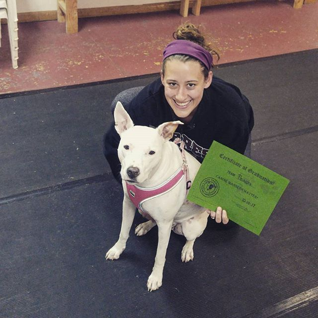 Congratulations Team Peach on completing our Canine Manners series!