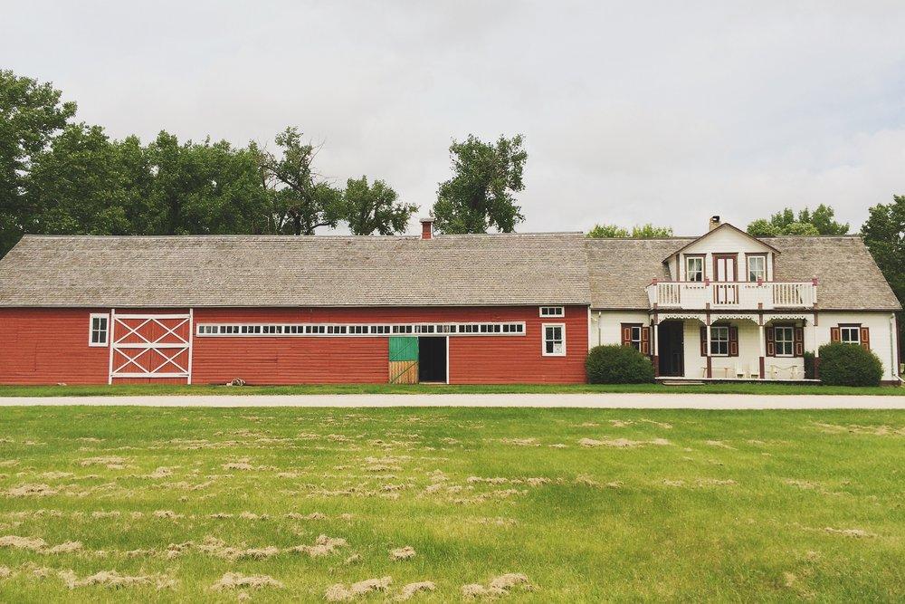 Friesen Housebarn, open for tours since 2005
