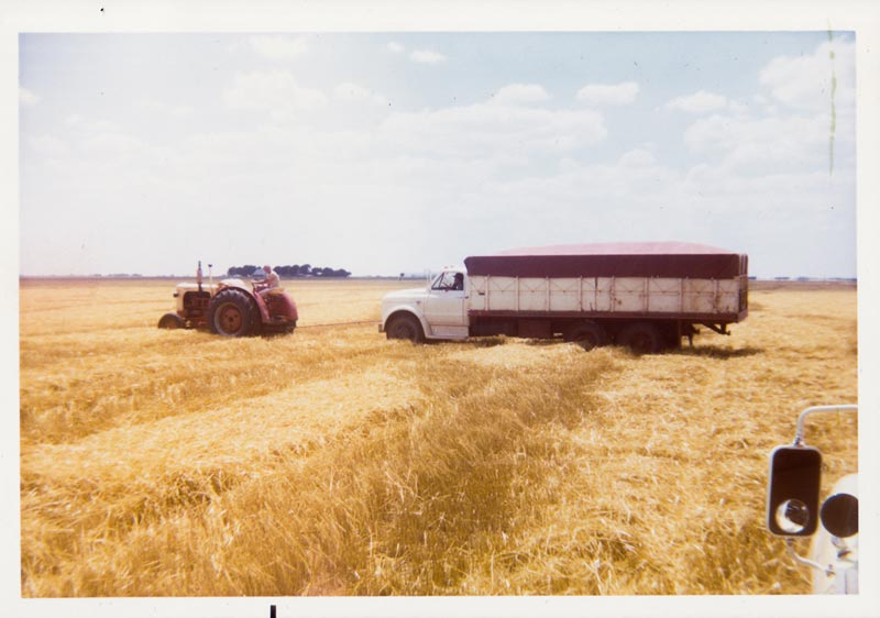 Wheat Truck Stuck (1970)