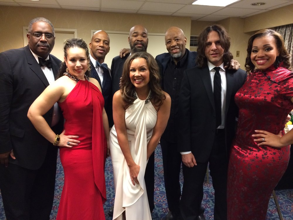 Vanessa Williams and band
