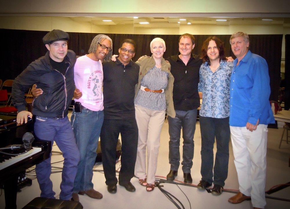 UN-AIDS Gala with Annie Lennox & Herbie Hancock