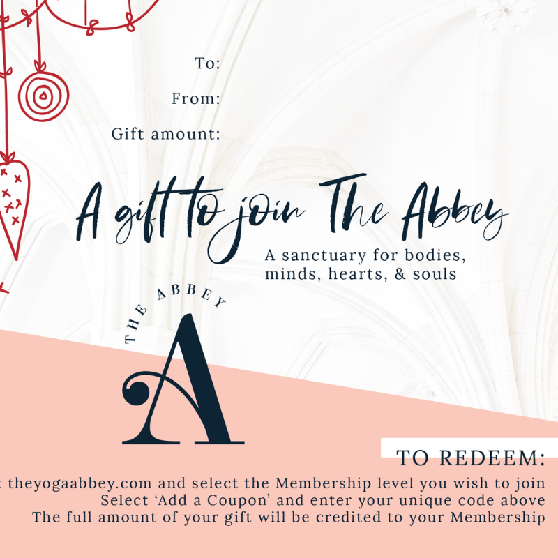 The Abbey Gift Card