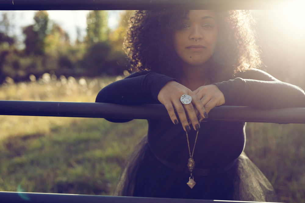 Featured: Delay (ring) || Metal & Roses (necklace