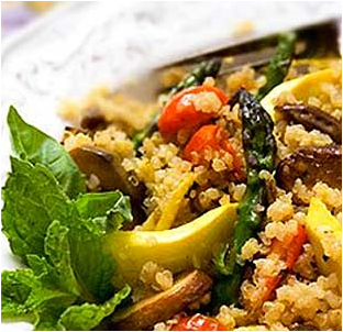 Quinoa and Vegitable Stir-Fry