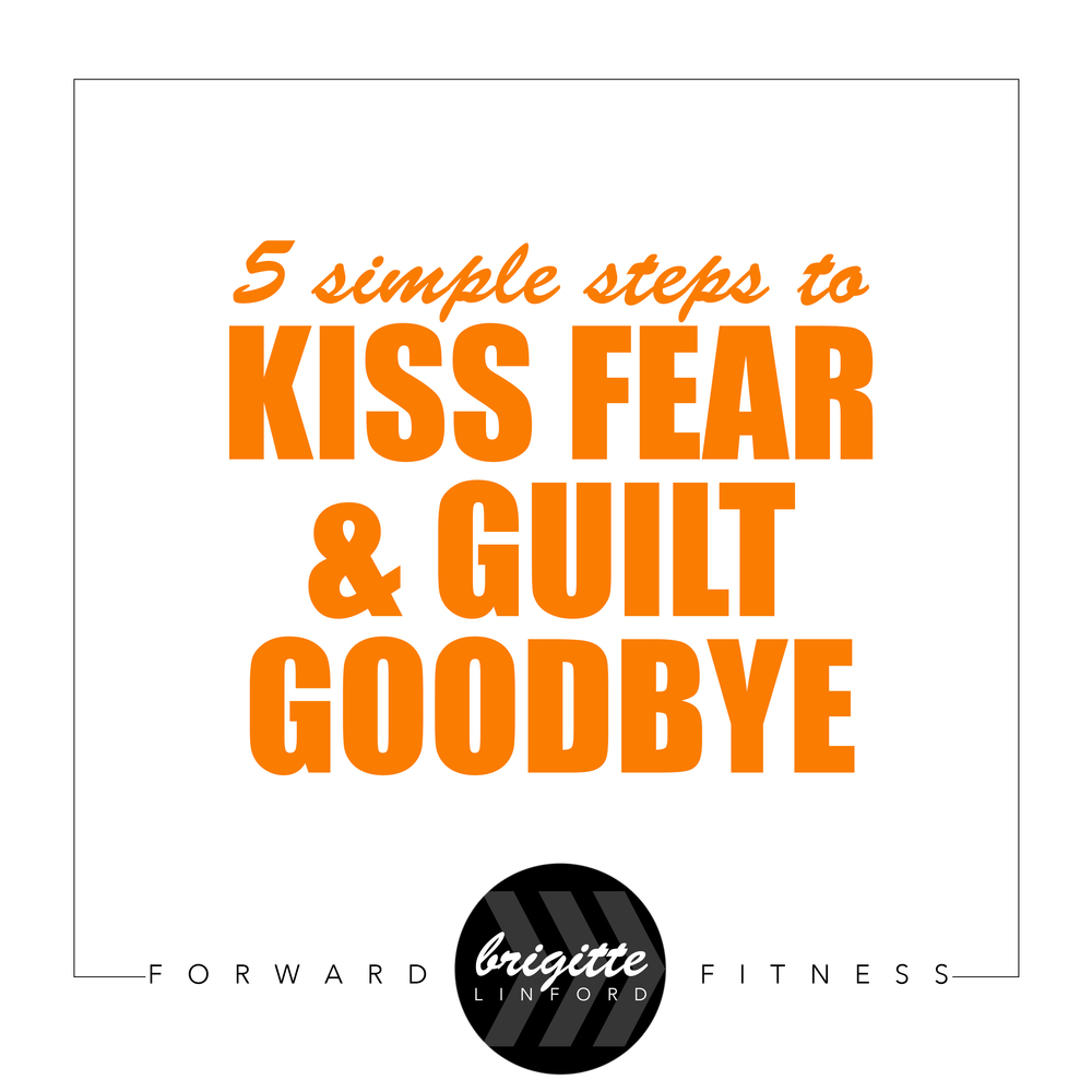 KISS FEAR AND GUILT GOODBYE