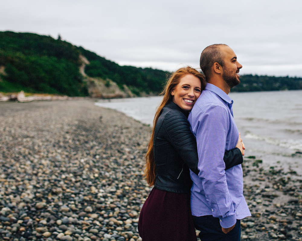 Seattle Engagement Session | PNW Beach Engagement