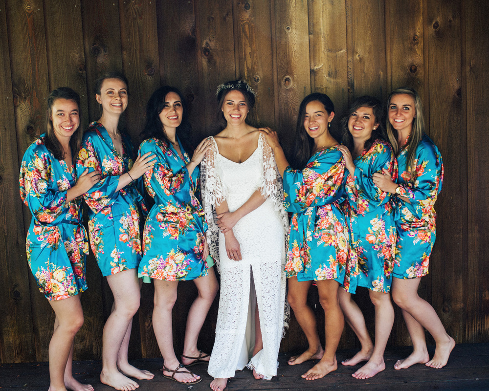 Bridal Party | PNW Wedding