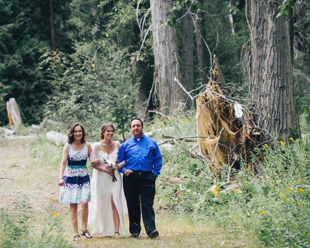 Ceremony | Mazama Basecamp Wedding