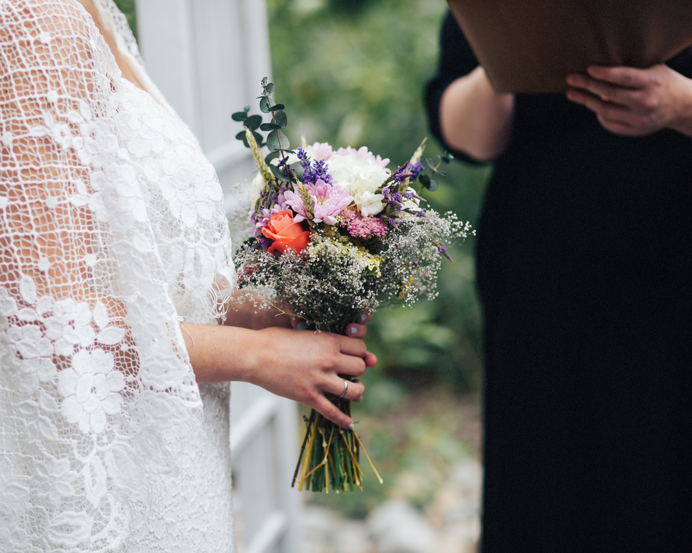 Boho PNW Wedding | Bouquet