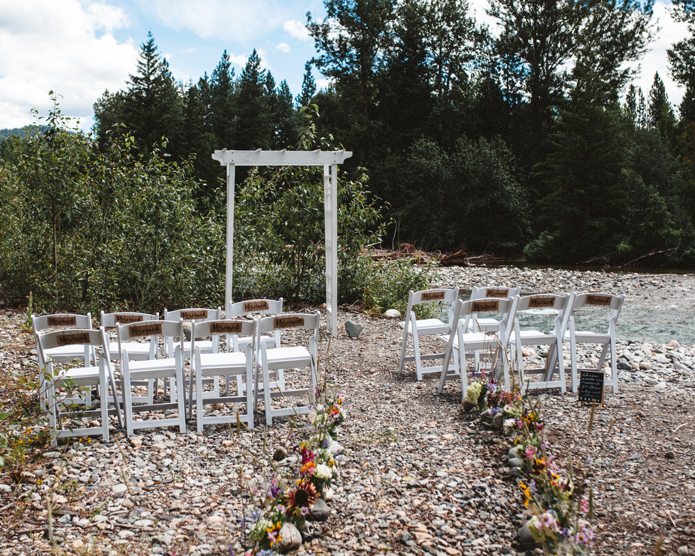 Boho PNW Wedding | Outdoors Wedding