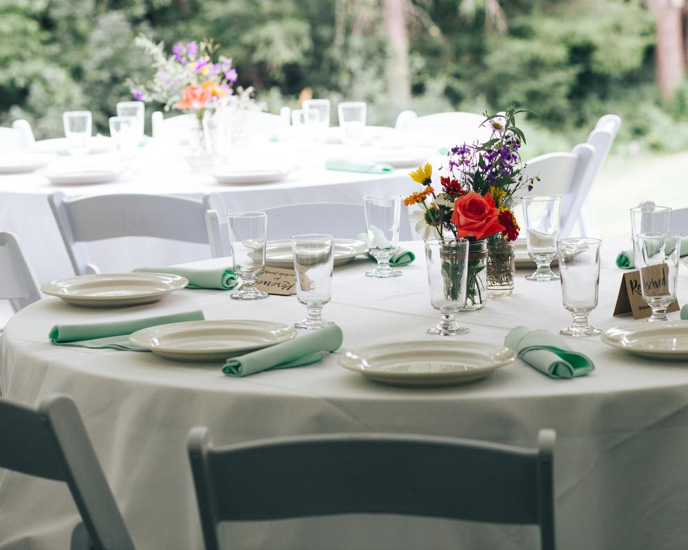 WEDDING DECOR | PNW WEDDING