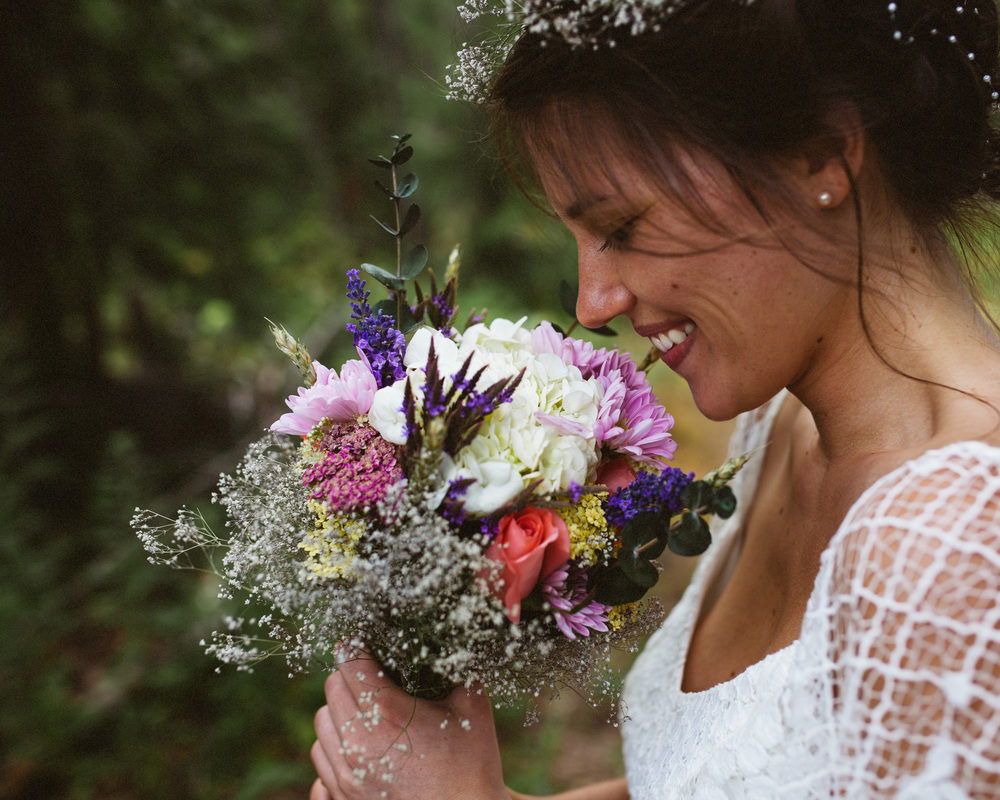BRIDAL Portrait | MOUNTAIN WEDDING