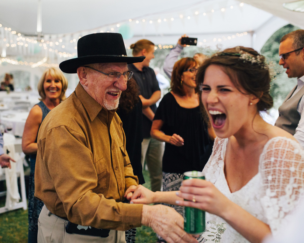 MAZAMA WEDDING RECEPTION