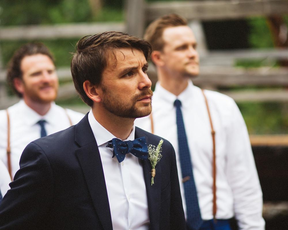 Groom | PNW Wedding