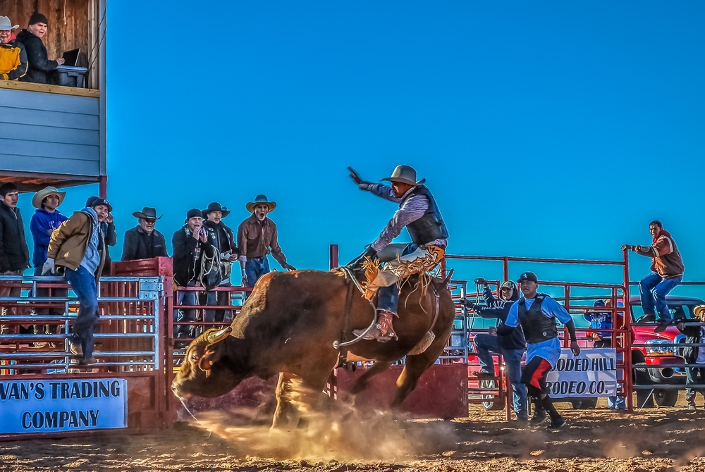 Western Navajo Nation Private Bullriding Action