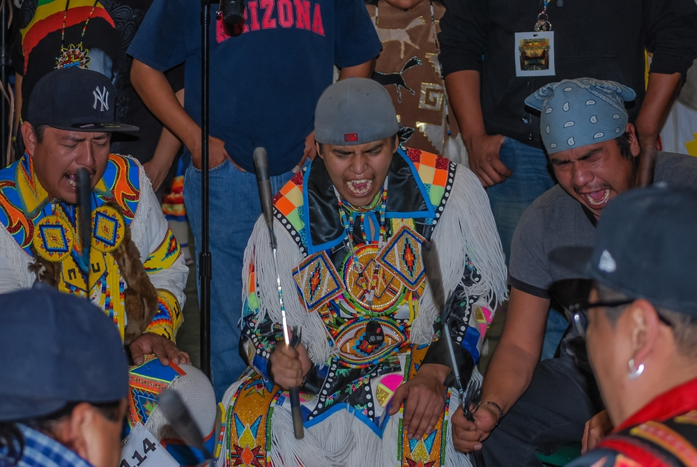 Powwow Drummers Singers Powerful Music Makers