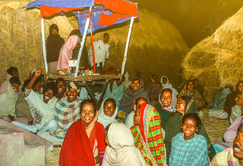 West Bengali Villagers Cheer Baul Musicians