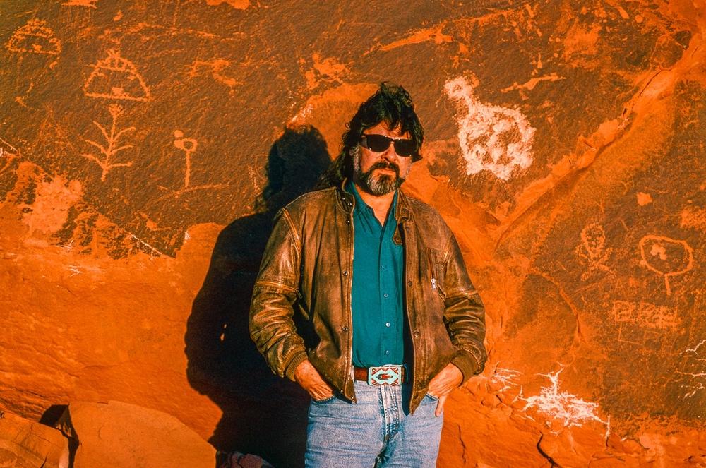 Lance Hensen, Southern Cheyenne Poet, Dog Soldier