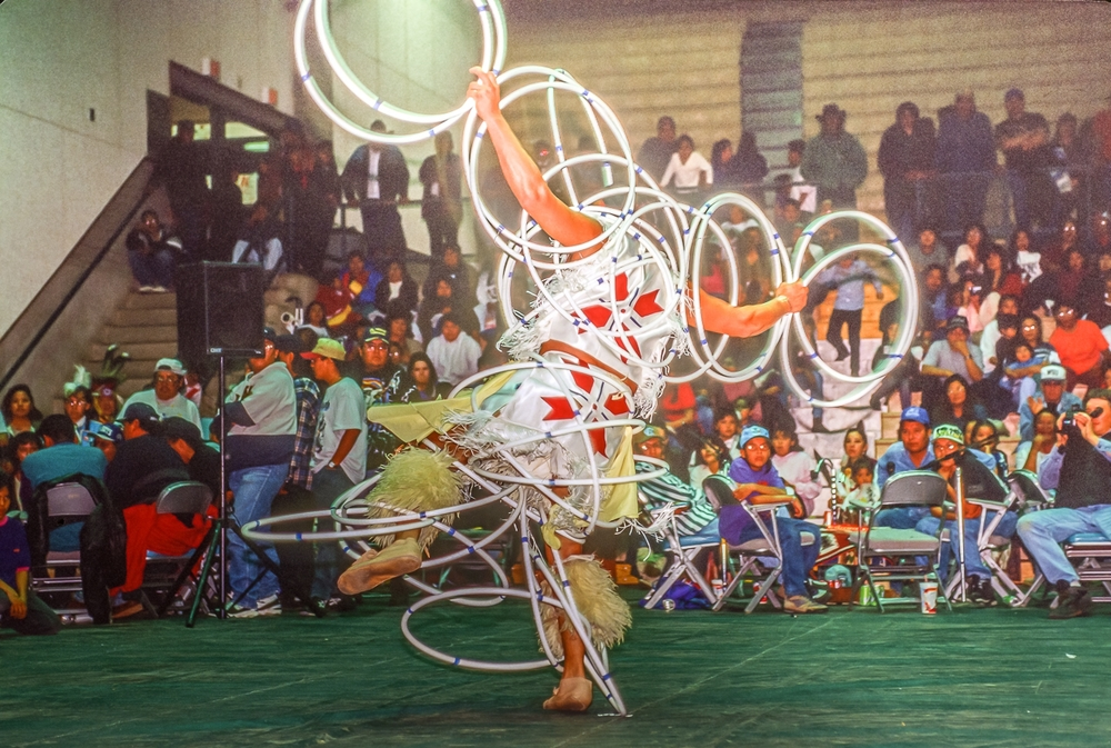 Hoop Dancer Enters The 4th Dimension, Powwow, Navajo Nation