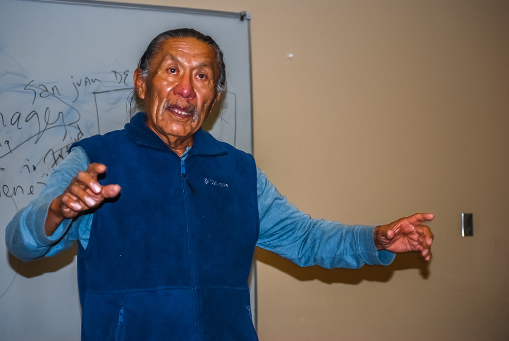 James Peshlakai, Navajo Medicine Man and Cultural Teacher
