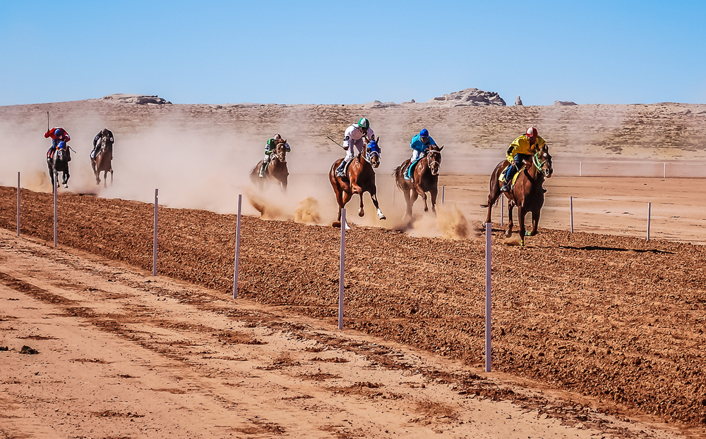 Exciting Open Horse Races in the Navajo Nation