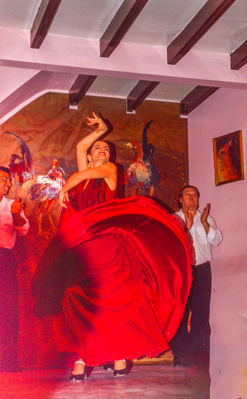 Flamenco Dancer, Madrid, Spain