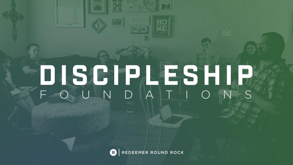 discipleship foundations