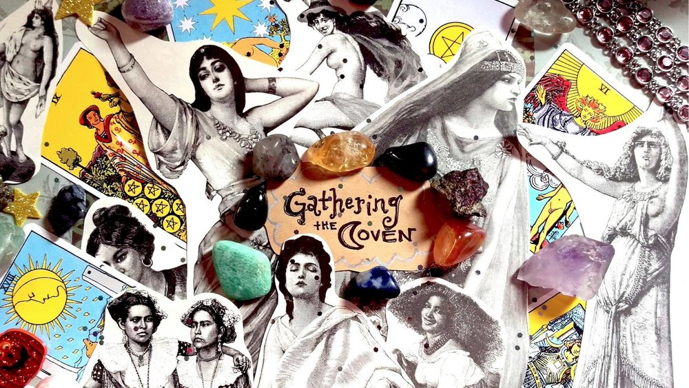 """Gathering the Coven"" is a light-hearted talk show for witches that features magical comedians, musicians, and practicing witches of NYC. We will be gathering the coven every full moon in the Underground at  The Peoples Improv Theater .    http://gatheringthecoven.com/"