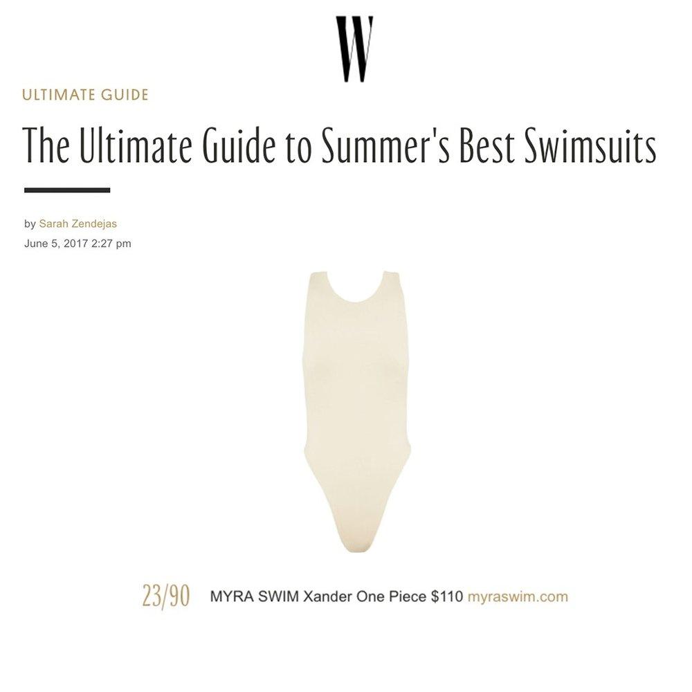 W Magazine: July 2017