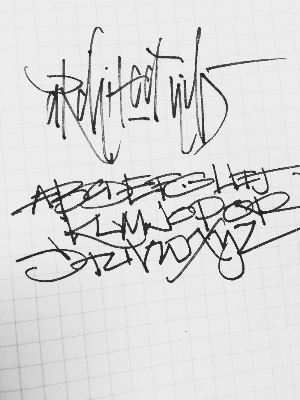 Matthew Morse ( http://www.nibandink.com ) - Architect Nib Example Writing