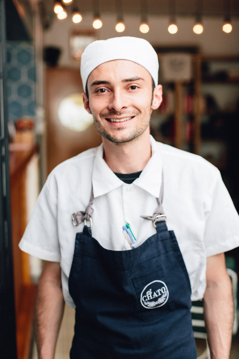 "Leonardo Fonseca - Head Chef ""He's a fundamental part of El Chato"" -A.C."