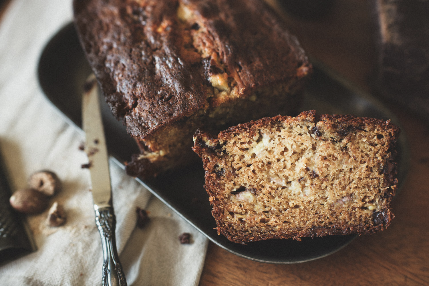 Banana Bread Bewitchingly Intoxicating Abroad They Feast