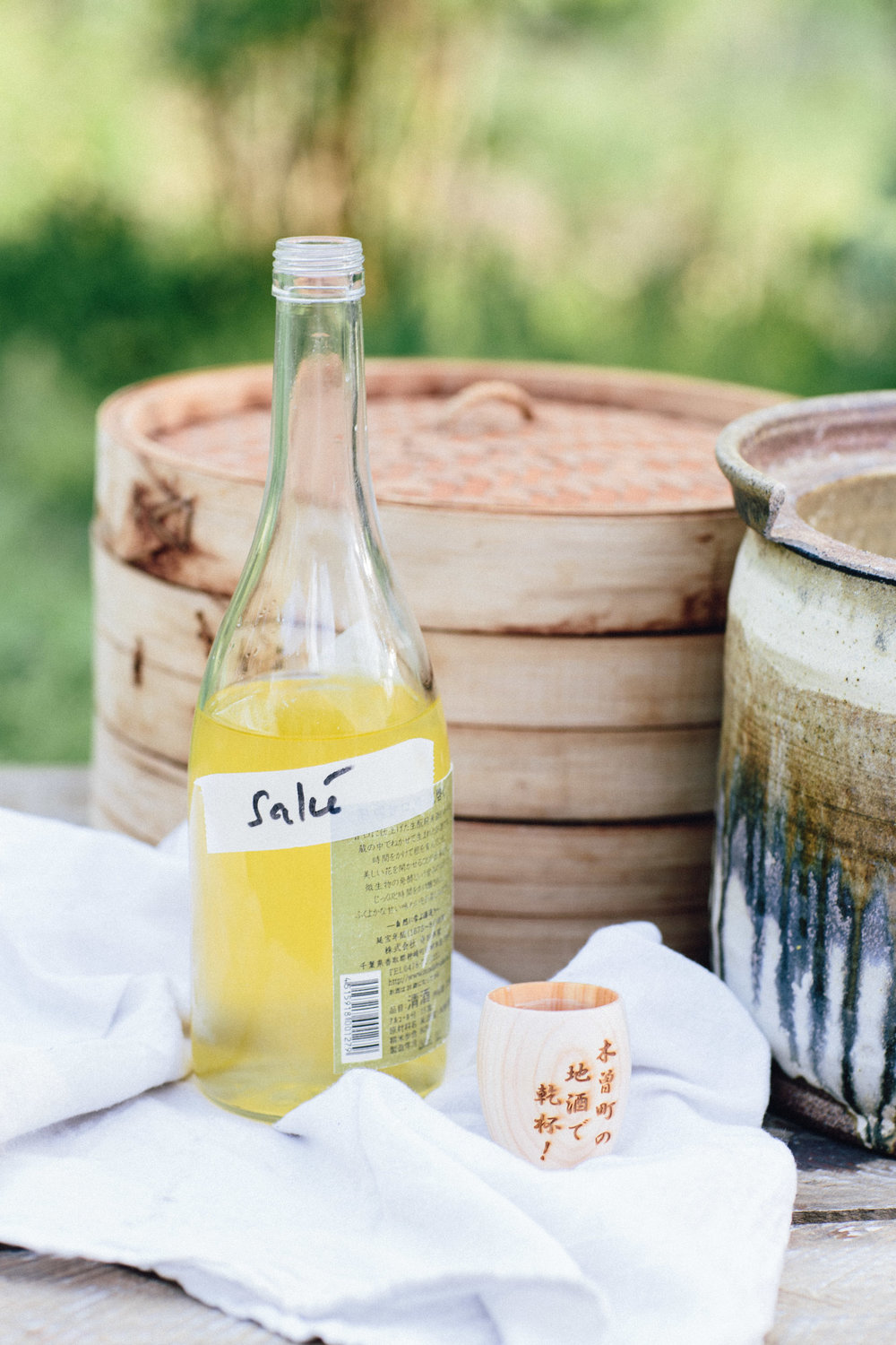 Another highlight was learning to make 100% wild fermented Sake, by using the Bodai Moto-Zukuri process – an ancient method that Sandor learned in Japan, from a 24th generation brewmaster.