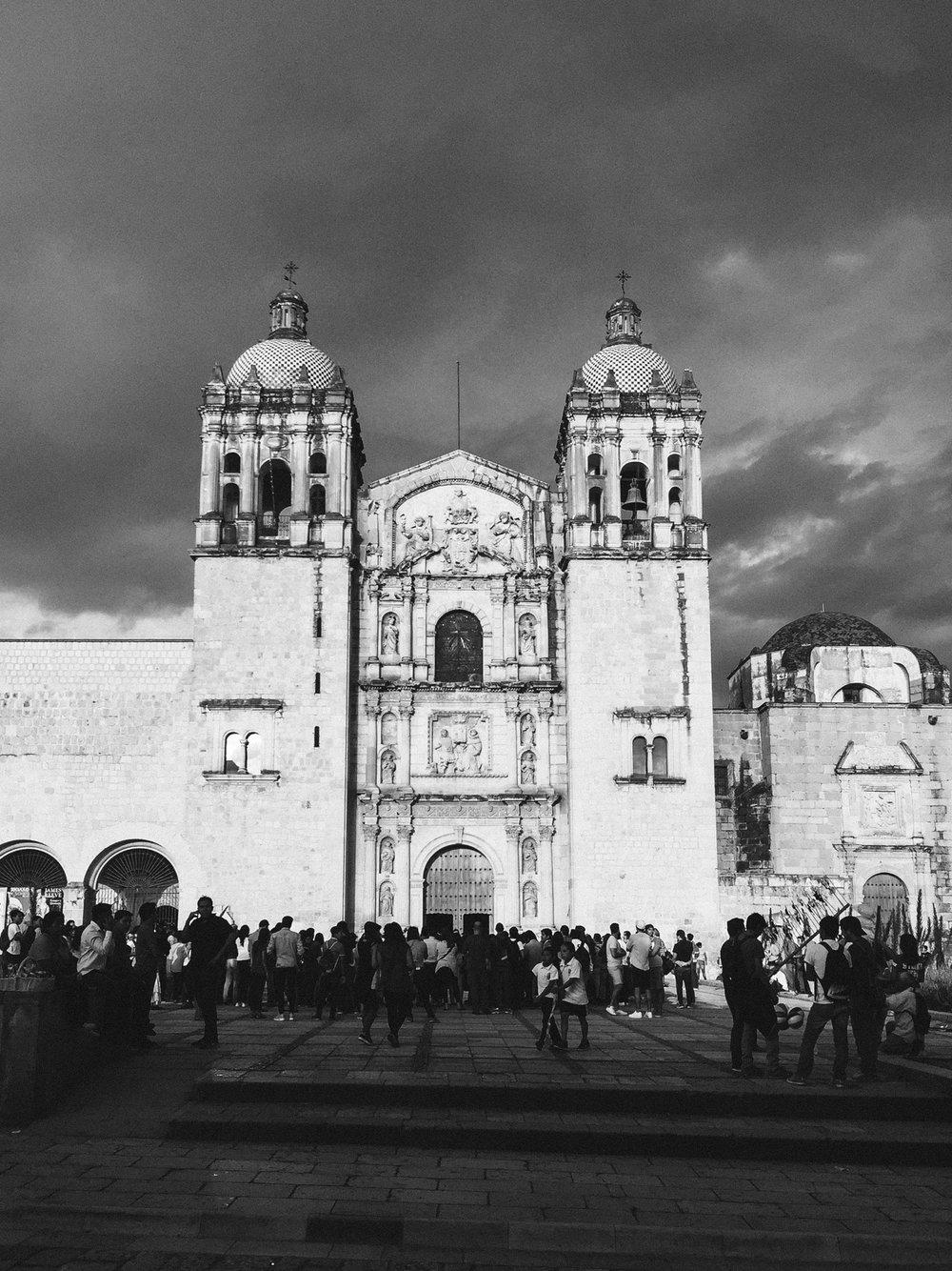 Templo de Santo Domingo de Guzman (The Church and former monastery of Santo Domingo de Guzmán is a Baroque ecclesiastical building complex in Oaxaca, Oaxaca, Mexico)