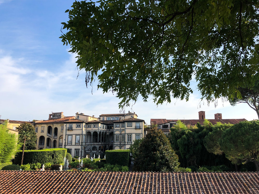 Stunning Palazzo Pfanner, Lucca -  website  Check calendar of classical music ensembles, tours of the palace and gardens available.
