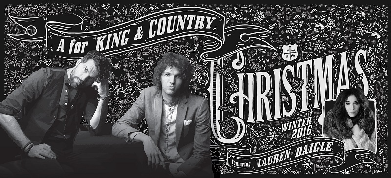for king country christmas tour with lauren daigle
